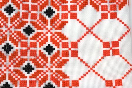 Part of ukrainian embroidery Stock Photo - 4305561