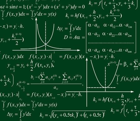 Matemáticas de fondo Ilustración de vector