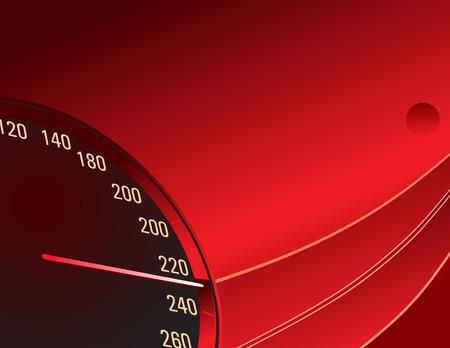 Speedometer Stock Vector - 4501958