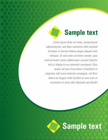 Green template Stock Vector - 4501961