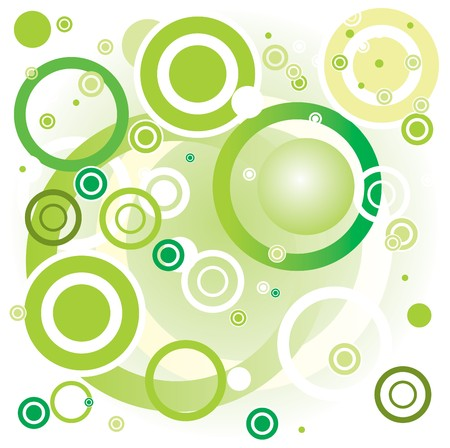 Green vector background photo