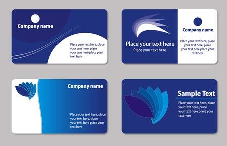 Business cards templates photo