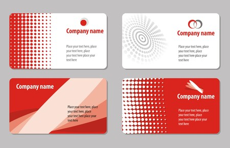 Business cards templates Stock Photo - 4538267