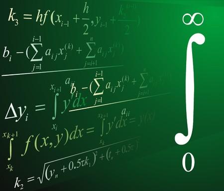 Mathematics background photo