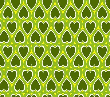Green heart background Stock Photo - 4538275