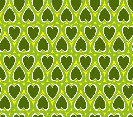 Green heart background Stock Photo - 4538275