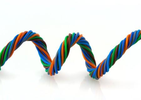 Wire spiral photo