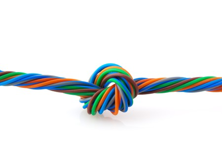 Wire knot Stock Photo - 4538232