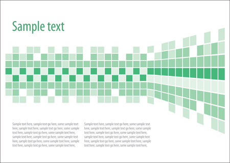 Green vector background Illustration