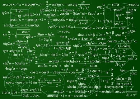 Mathematics background Stock Vector - 4877044