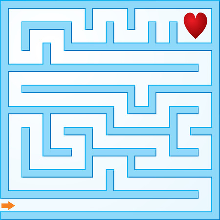 Small vector maze Stock Vector - 4876985