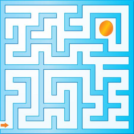 Small vector maze Stock Vector - 4876989