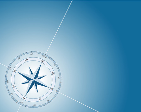 magnetic north: Compass