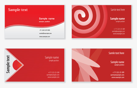 Business cards templates Stock Vector - 5196470