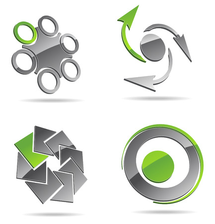 symmetric: Abstract icons