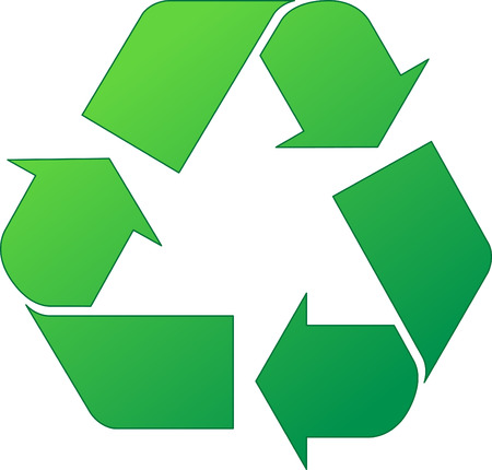 preserves: Verde el s�mbolo de reciclaje