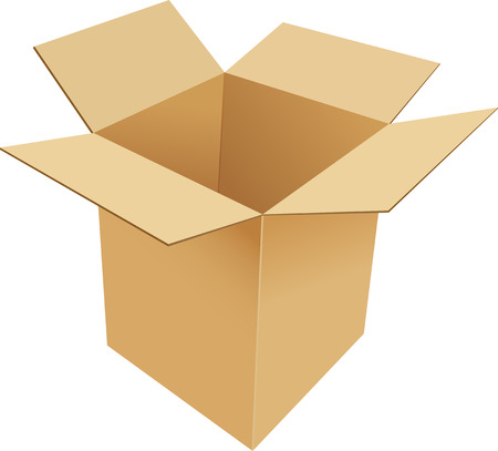 기밀: 골 판지 상자