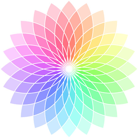 Vector color wheel. Stock Vector - 6319754