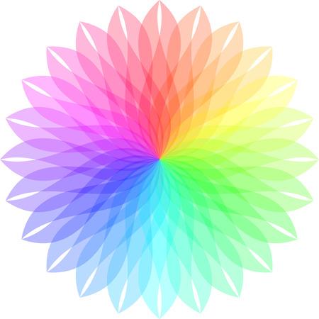 Vector color wheel. Stock Vector - 6319769