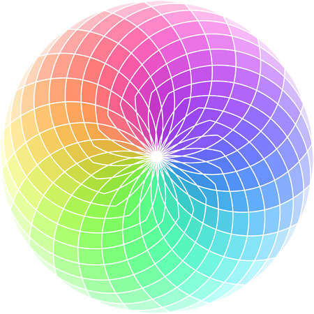 Vector color wheel. Stock Vector - 6319767