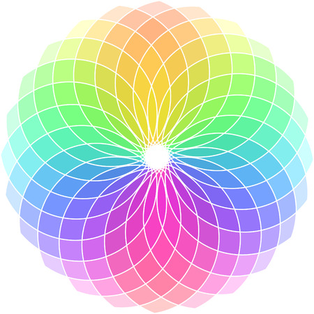 Vector color wheel. Stock Vector - 6319825