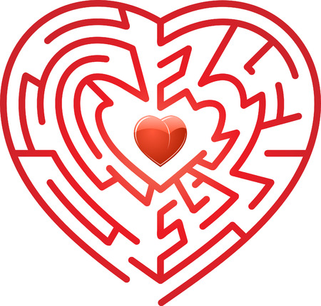 lost love: Maze whits heart