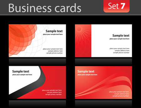 visiting card design: Business cards templates