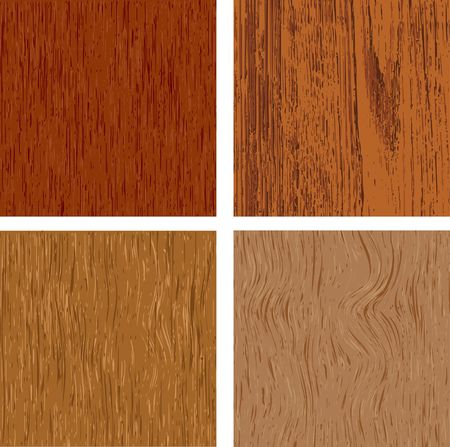 panelling: Set of four wood textures