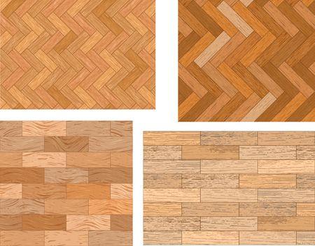 Set of wooden textures Stock Vector - 6776673