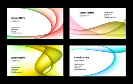 cards: Business cards Illustration