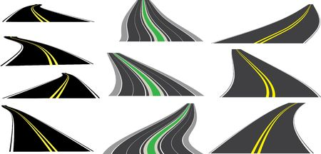 tarmac: perspective roads