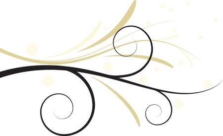 utworzonych: Budowa Abstact kwiatu Ilustracja
