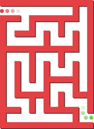 mind games: Laberinto rojo