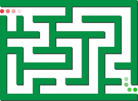 mind games: Green labyrinth