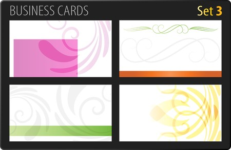 Business cards template Stock Vector - 7139668