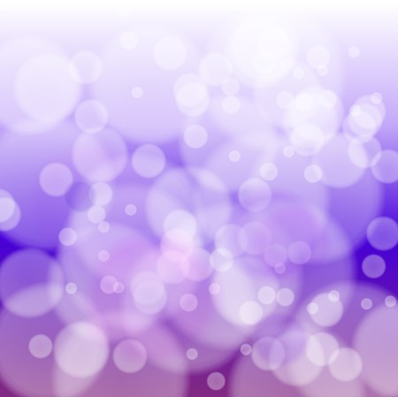 Violet bokeh abstract light background with stars.  illustration  Stock Illustration - 7305054