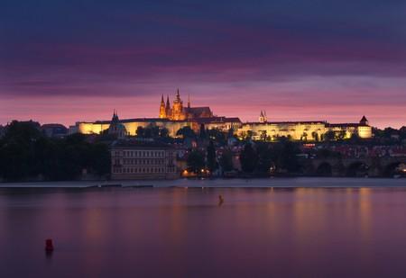 Night Prague photo
