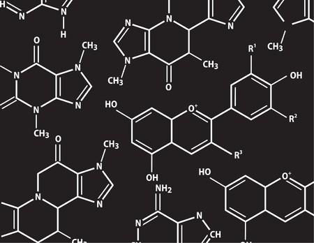 chemistry formula: Chemistry formulas Illustration