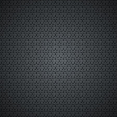 Fiber carbon background Vector