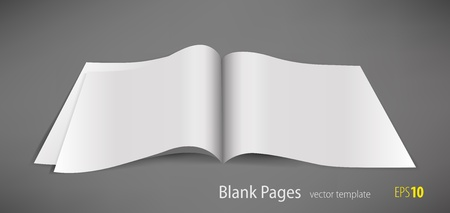 one sheet: Blank pages