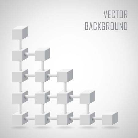 building blocks: Abstract vector bacgkround