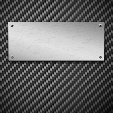 Carbon Carbon fiber seamless background Vector