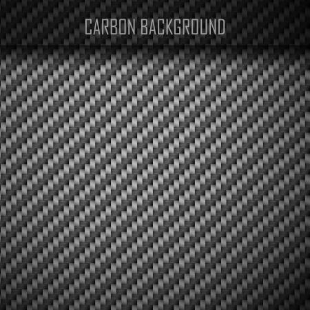 fibra: In fibra di carbonio sfondo di carbonio senza soluzione di continuit� Vettoriali