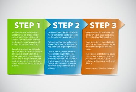 instrucciones: Las tarjetas con pasos