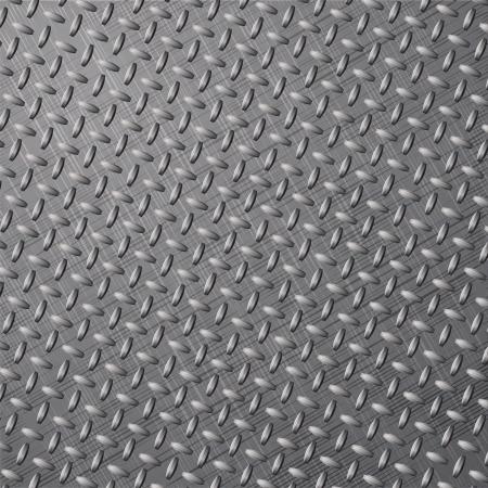 treadplate: Metal background  illustration
