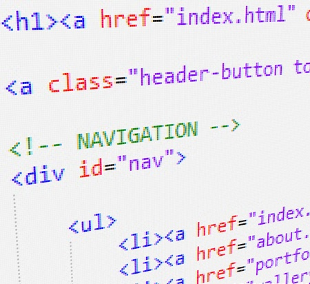 hypertext: CSS and HTML code