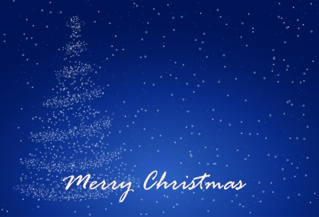 christmass: Abstract background with Christmass tree