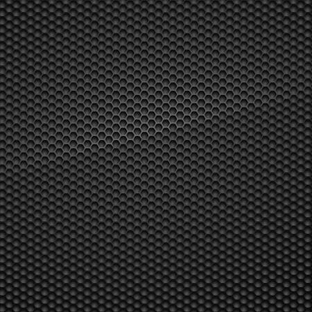 malla metalica: Carbon Ilustración Patrón
