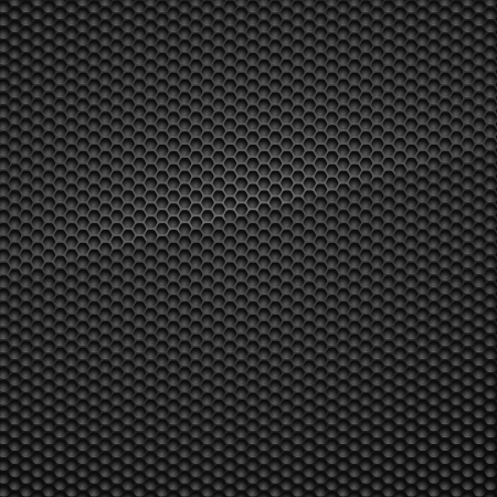 metal mesh: Carbon Pattern Illustration