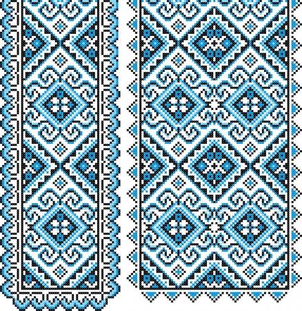 Ukrainian national ornament  Vector illustration  Иллюстрация